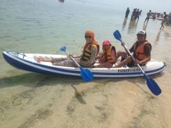 Row, row, the canoe