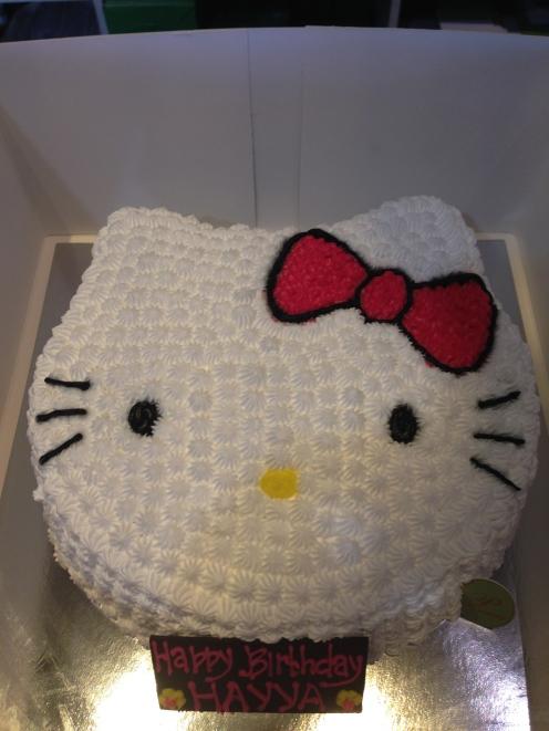 Her birthday cake