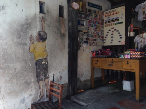 One of the most popular artworks in Penang