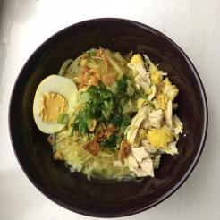 Indonesian Soup aka Soto by chef Zaki and chef Hayu