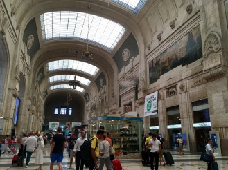At Milano Centrale