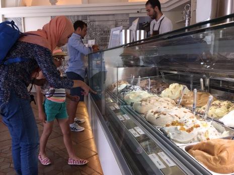 Second gelato in Milan