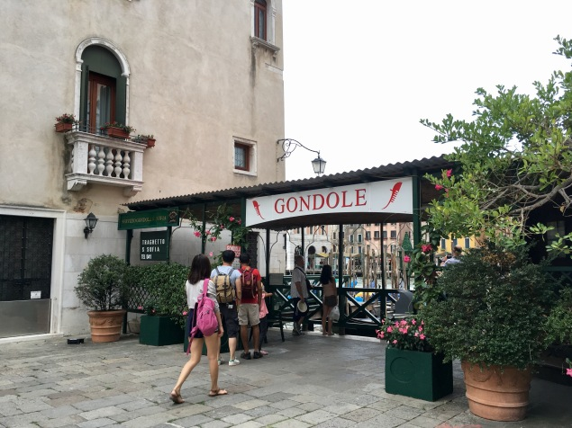 Wanna ride a gondola?