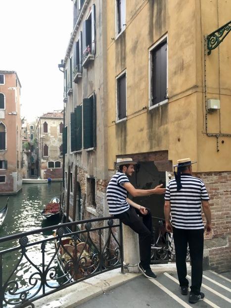 Gondola driver