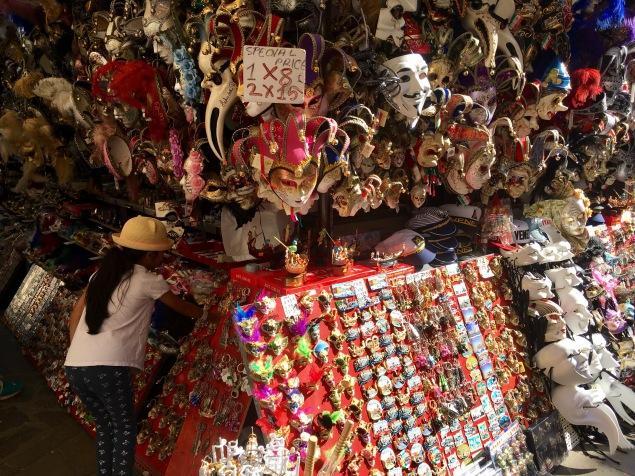 A souvenir stall
