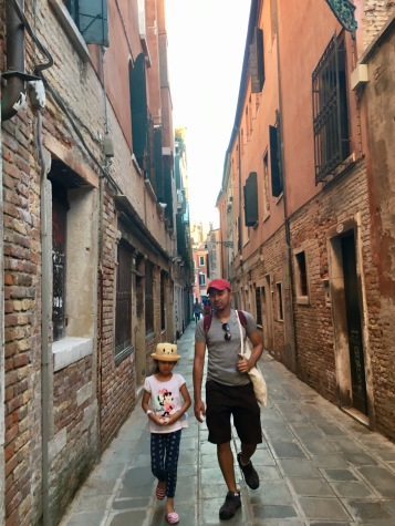 One last stroll before leaving Venice