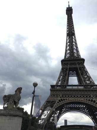 Cloudy day in Paris
