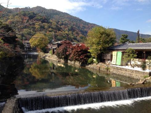 Musim gugur di Kyoto