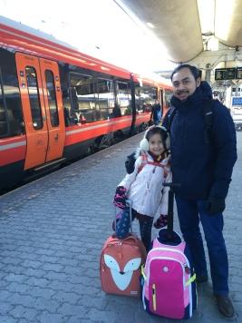 At Oslo Sentralstasjon