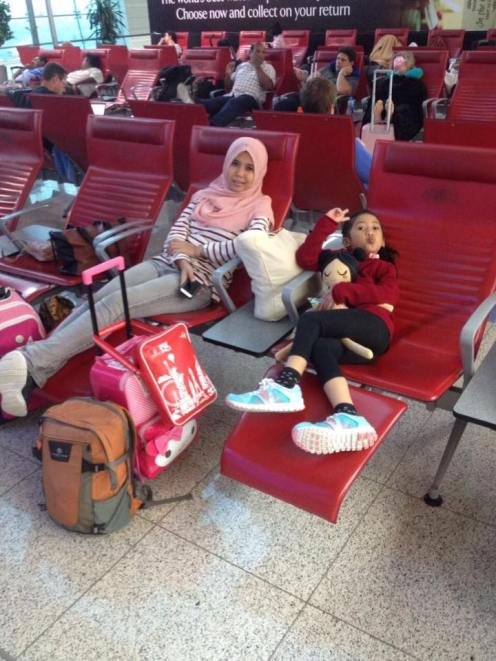 Transit di Dubai