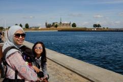 Kronborg Castle from afar